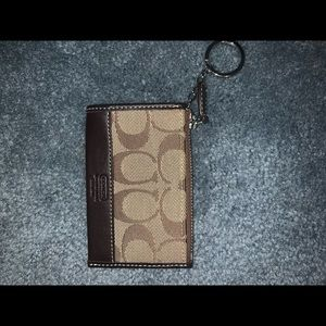 Coach key chain wallet: Never used!!